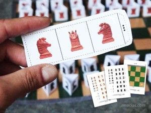 Chess for Kids (Printable Chess Board and Chess Pieces)