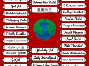 """How to say """"Merry Xmas"""" in more than 60 different languages from around the world"""