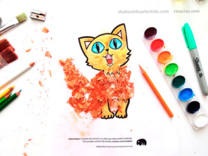 Creative Animal Crafts Templates