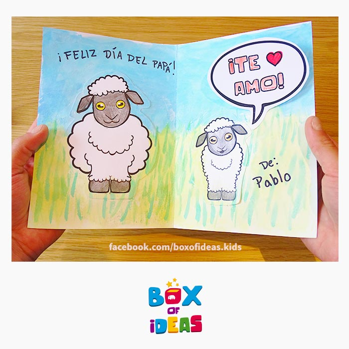 daddy-sheep-and-baby-illustrated-guess-what-bilingual-card-for-Inclusive-Modern-DIY-Fathers-Day-Gift-by-box-of-ideas