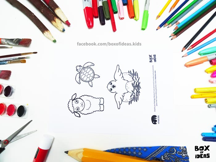 printable-preview-baby-sheep-turtle-and-bird-Animal-adults-and-Kids-Drawings-for-Inclusive-DIY-Modern-Fathers-Day-Card-by-box-of-ideas-07