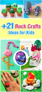 +21 Rock Craft Ideas That Kids Can Make