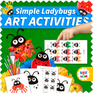 collage of simple-ladybugs-art-activities-for-prek-and-preschool