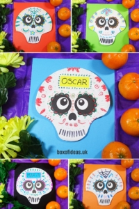 Day of the Dead Sugar Skulls Craft for Kids