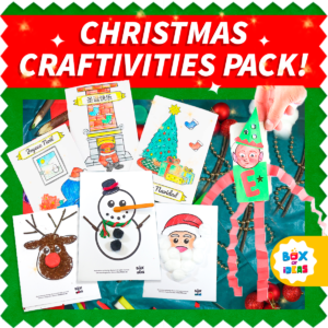 Christmas Craftivities Pack for Kindergarten and Preschool