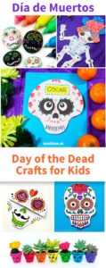 10 Easy Dia de los Muertos Crafts for Preschool Kids