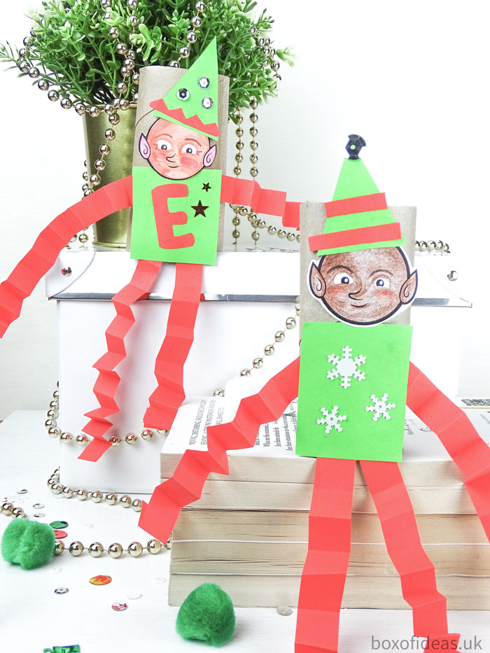 diverse-elfs-couple-photo-of-diy-christmas-paper-elf-on-the-shelf-craft-for-teachers-of-preschool-kids