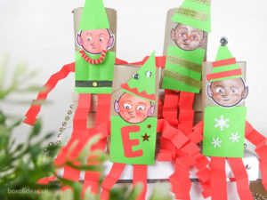 DIY Christmas Elf on the Shelf Idea for Kids: An Easy Craft with Shapes