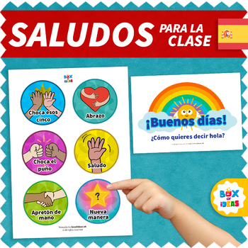 Morning Greeting Poster in Spanish
