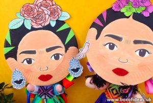Frida Kahlo Kids Craft