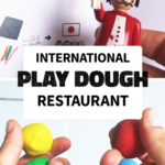 playmobil chef with playdough balls