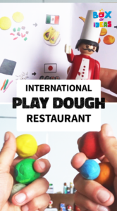 International Food Playdough Activity Idea