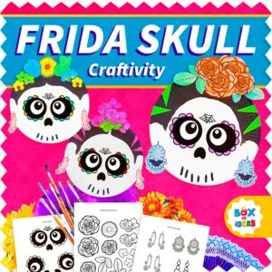 Frida Kahlo Sugar Skull: Day of The Dead Craft