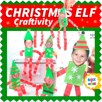 elf crafts made of paper and toilet paper rolls